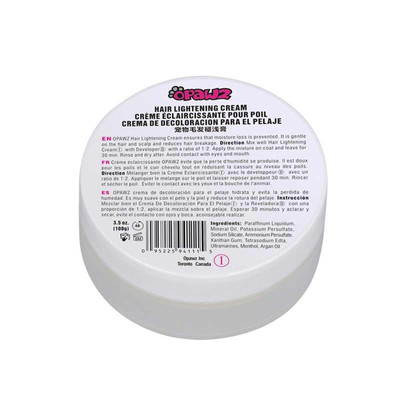 OPAWZ Hair Lightening Cream 3.53 oz.