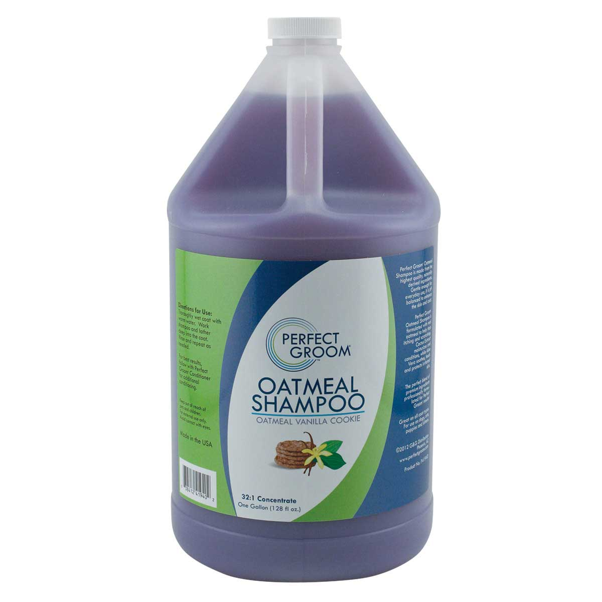 Professional Grooming Perfect Groom Oatmeal Shampoo Concentrated 32:1 Gallon