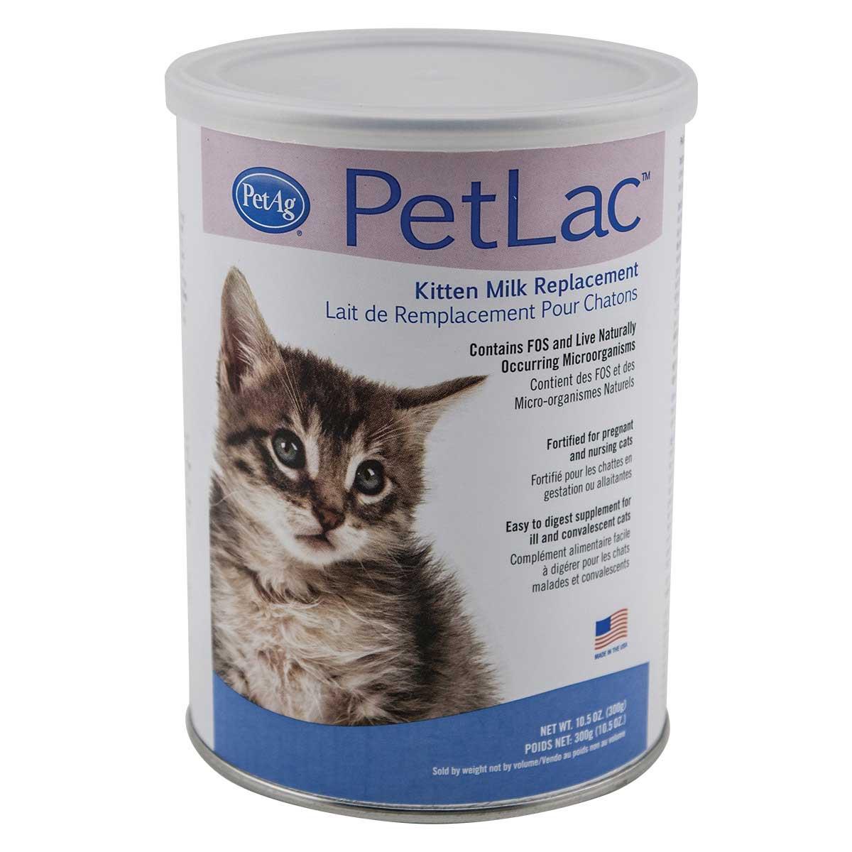 PetAg PetLac Powder For Kittens 10.5 oz - Milk Replacement