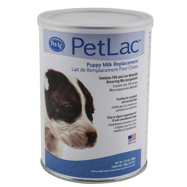 PetAg PetLac Milk Replacement Powder For Puppies 10.5 oz