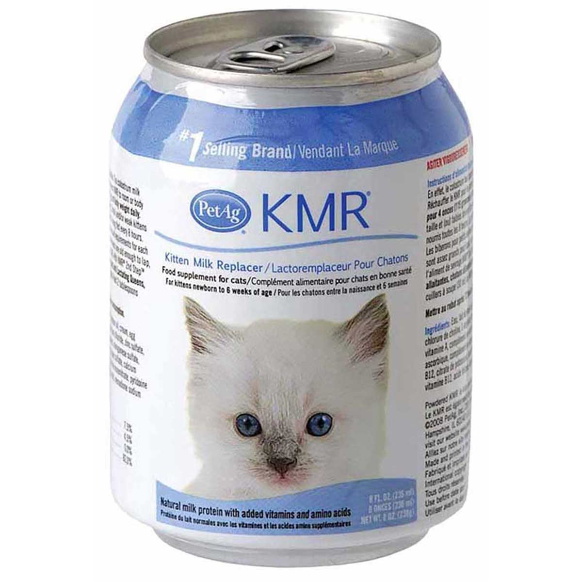 PetAg KMR Kitten Milk Replacement Liquid 8 oz
