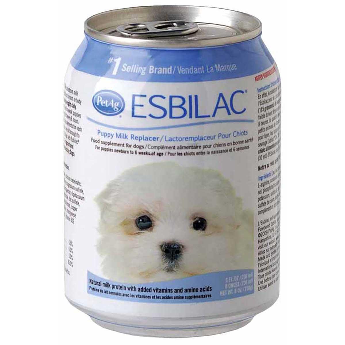 PetAg Esbilac Puppy Milk Replacement Liquid 8 oz