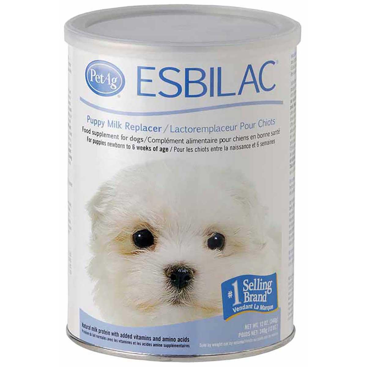 PetAg Esbilac Milk Replacement Powder for Puppies 12 oz