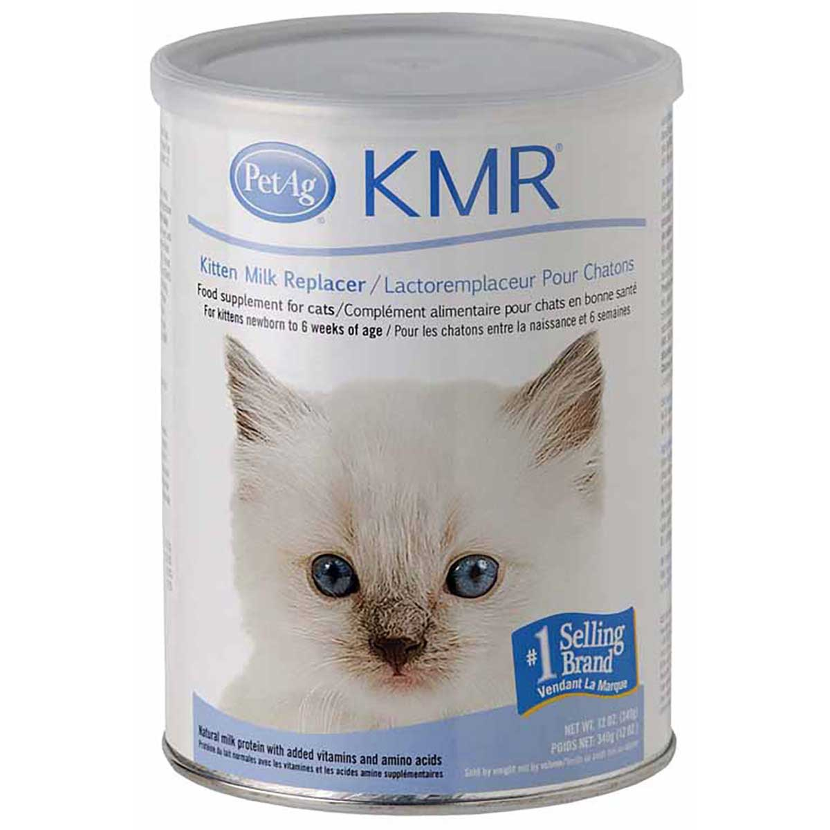 PetAg KMR Kitten Milk Replacer Powder 12 oz