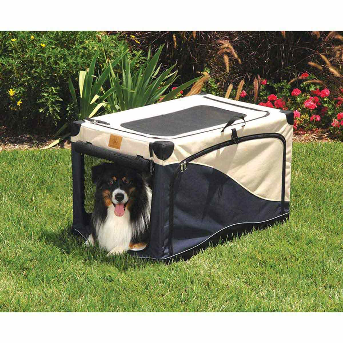 Precision Soft Side Crate for Cats and Dogs - 24 inches by 18 inches by 17 inches