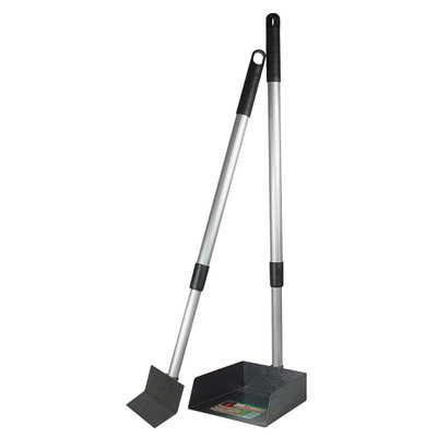 Little Stinker Poop Scoop Small Pan With Spade for Dog Waste Removal