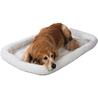 Snoozzy Fleece Crate Bed - Various Sizes
