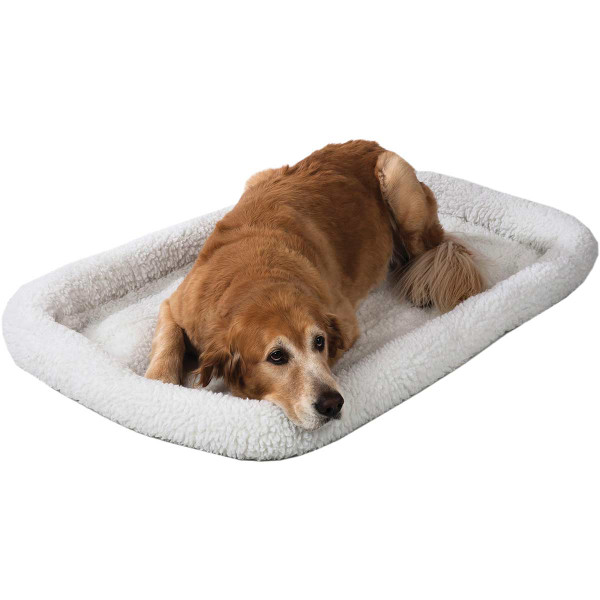 Snoozzy Fleece Crate Bed for Small Dogs