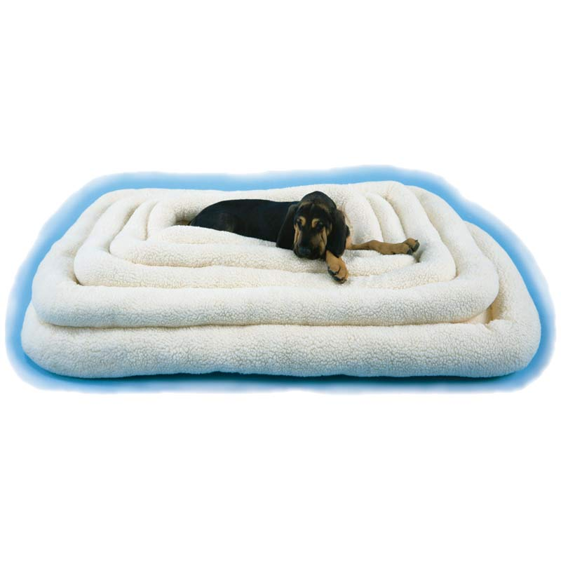 Snoozzy Fleece Crate Bed for Medium and Large Dogs - 45 inches by 32 inches
