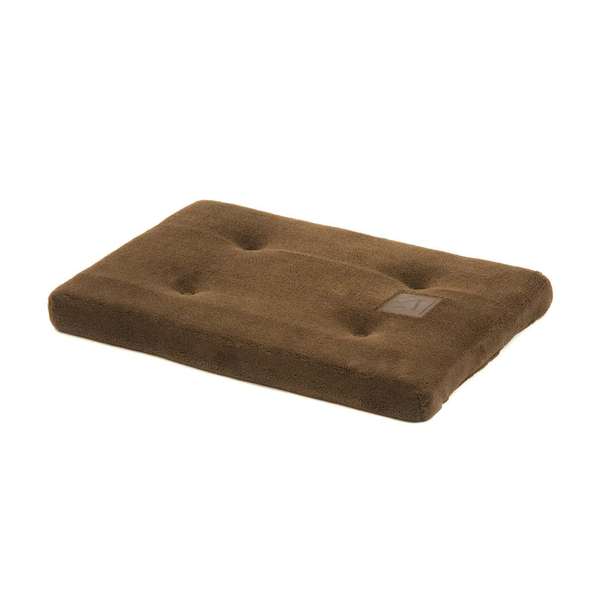 Snoozzy Chocolate Pet Mattress for Crates 34.75 inches by 21.5 inches