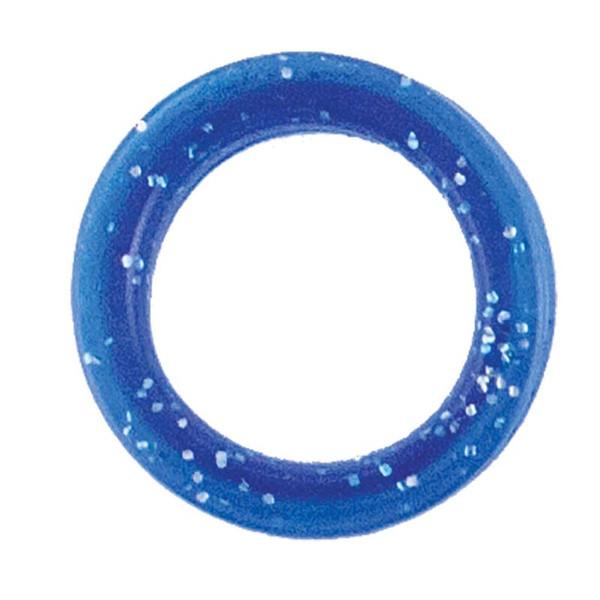 Large Blue Sparkle Finger Ring for Grooming Shears