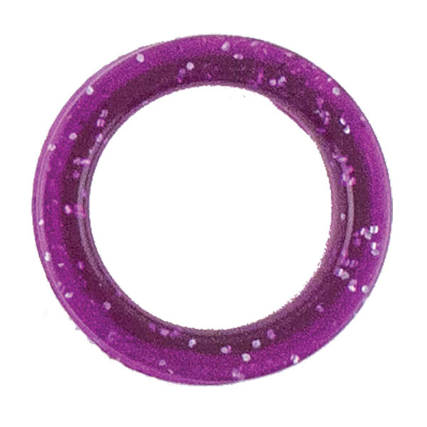 Large Purple Sparkle Finger Ring for Grooming Shears