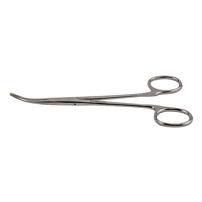 Curved Paw Brothers 5.5 inch Non-Locking Hemostat