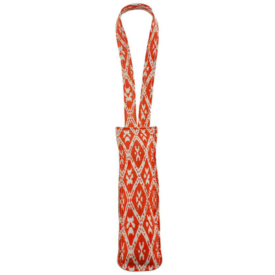 Dawgee Play Printed 15 inch Coral Canvas Pull Tug Dog Toy