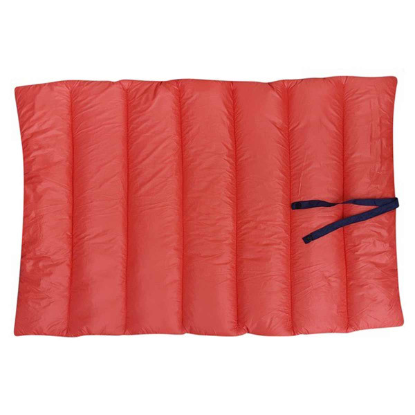 Coral side of Dawgee Rest Reversible Travel Mat