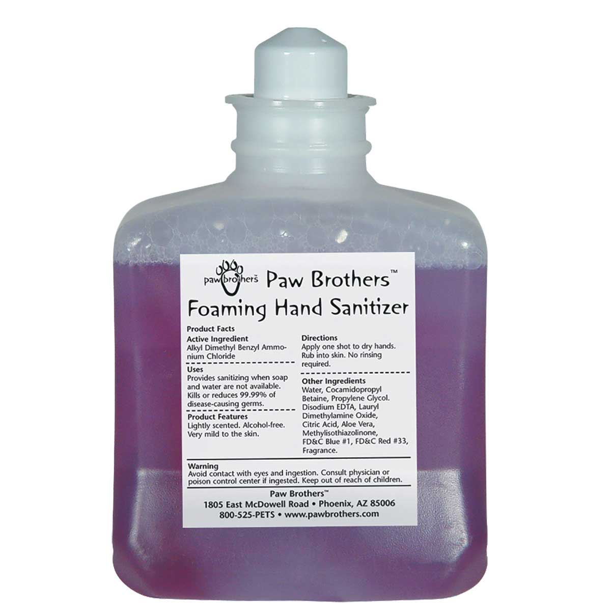Paw Brothers Foaming Hand Sanitizer - 1 Liter