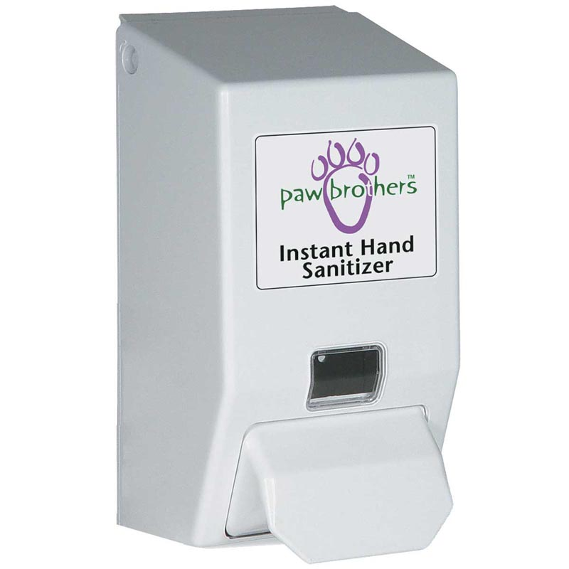 Dispenser For Paw Brothers Instant Hand Sanitizer