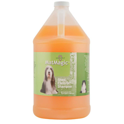 Paw Brothers MatMagic Shed Control Shampoo 32:1 Gallon