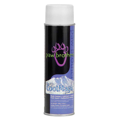 Paw Brothers CoolMagic Lubricant Blade Coolant for Grooming Clipper Blades - 13 oz
