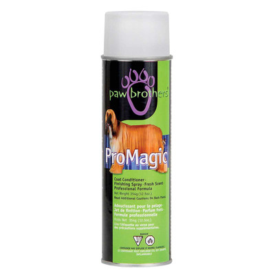 Paw Brothers ProMagic Coat Conditioner Finishing and Conditioning Spray 12.5 oz