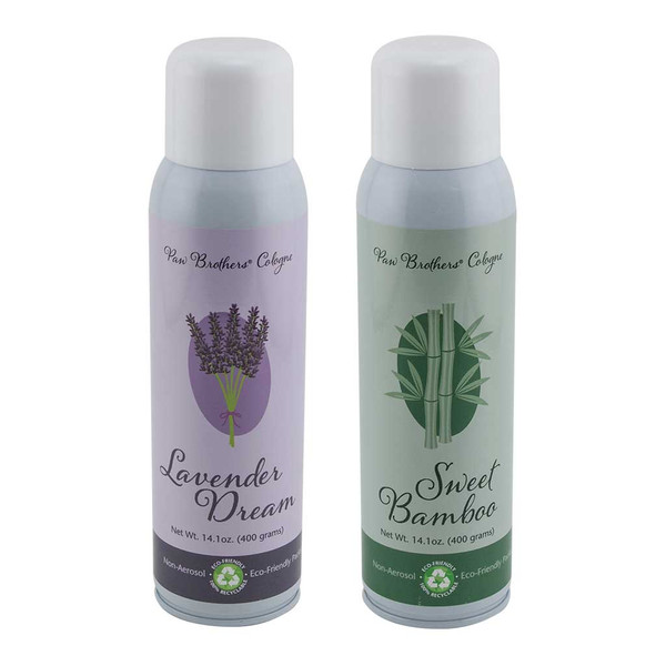 Paw Brothers Cologne Kit Sweet Bamboo and Lavender Dream