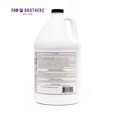 Paw Brothers Lasting Lavender Disinfectant 256:1 Gallon fights and kills COVID-19 aka Corona Virus