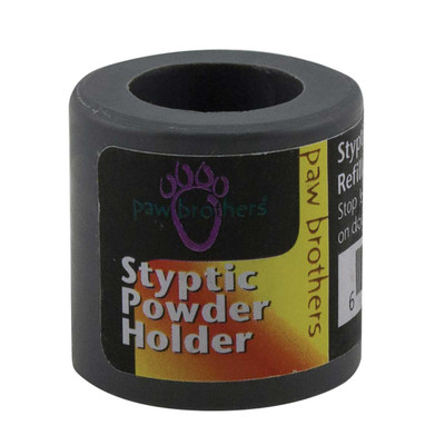 Paw Brothers Styptic Powder Holder Refillable & Unbreakable