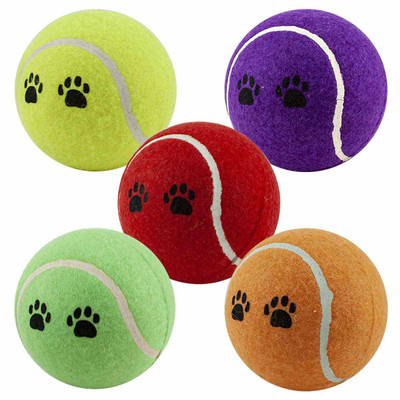 Paw Brothers Tennis Ball 4 inch Dog Toy
