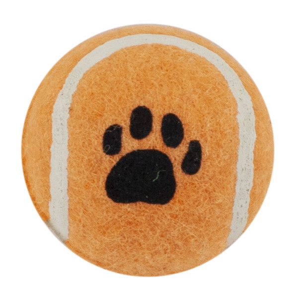 Orange Tennis Ball 1.8 inch Dog Toy