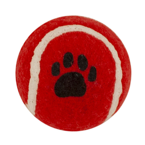 Red Tennis Ball 1.8 inch Dog Toy
