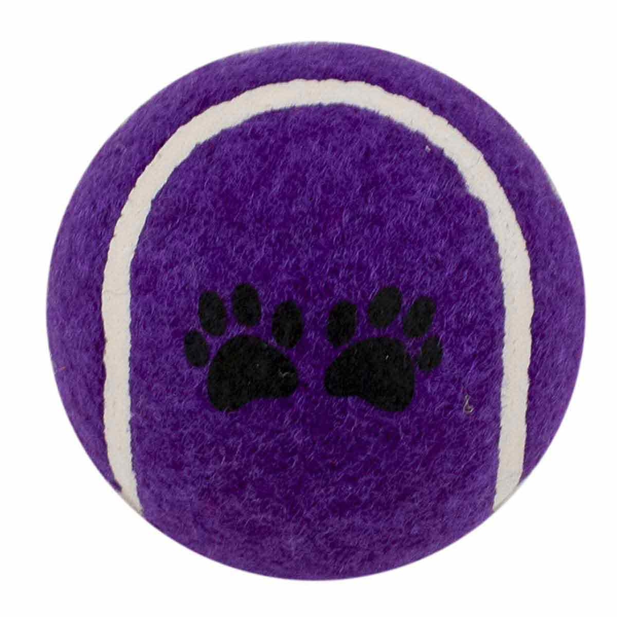 Purple Tennis Ball 2.5 inch Dog Toy
