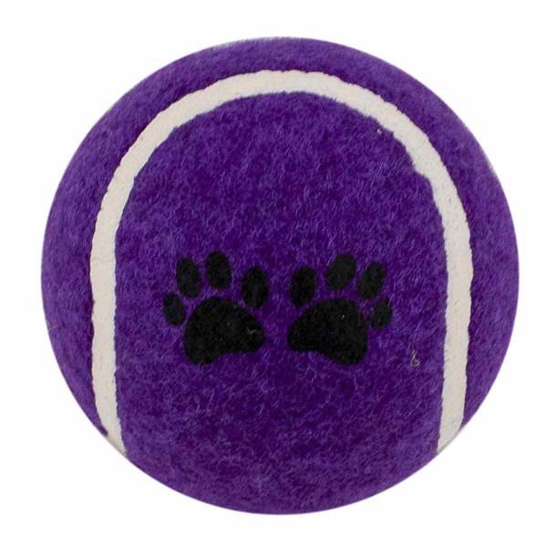 Purple Tennis Ball 2.5 inch Dog Toy