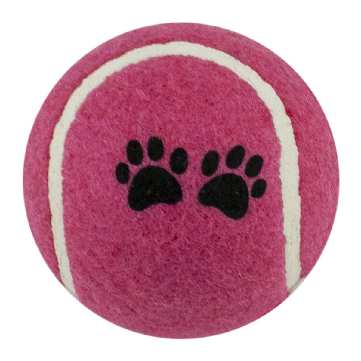 Pink Tennis Ball 2.5 inch Dog Toy