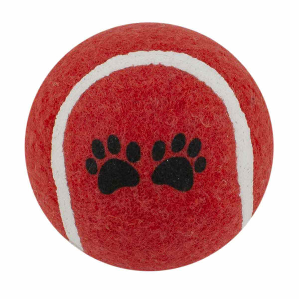 Red Tennis Ball 2.5 inch Dog Toy