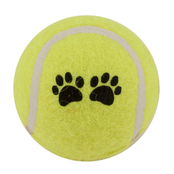 Yellow Tennis Ball 2.5 inch Dog Toy