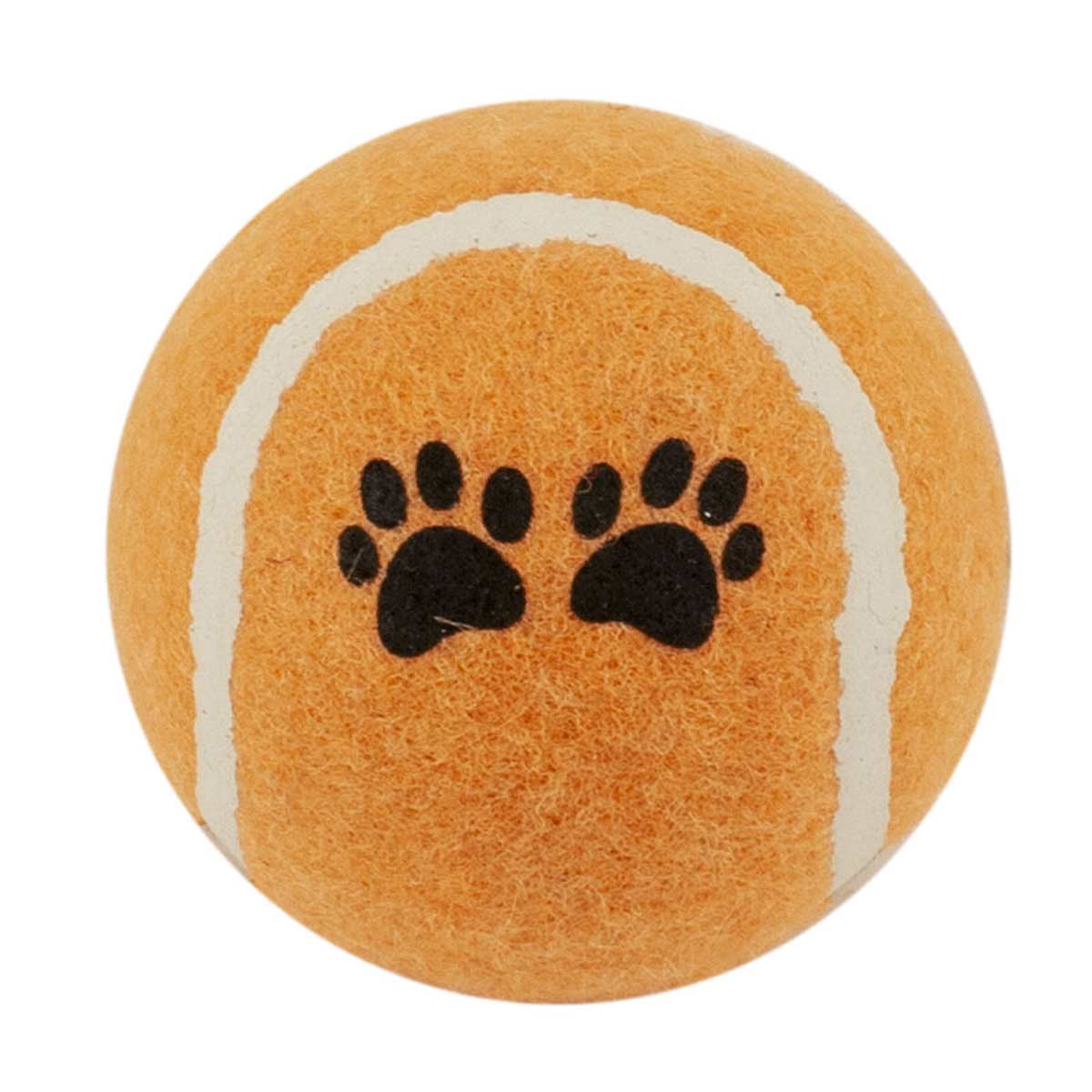 Orange Tennis Ball 2.5 inch Dog Toy