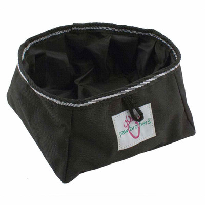 Paw Brothers Sport Collapsible Travel Bowl for Dogs - Holds Water Or Food