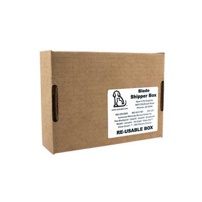 Bundle Of 50 Unassembled, Unlabeled Blade Shipper Boxes