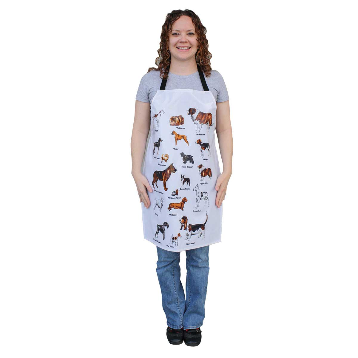 Paw Brothers Dog Breed Waterproof Apron PVC Coated