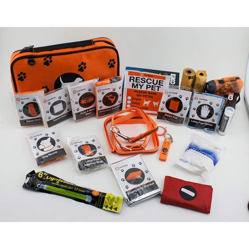 Relief Pod Dog Safety & Care Kit Includes all the things for a Pet emergency