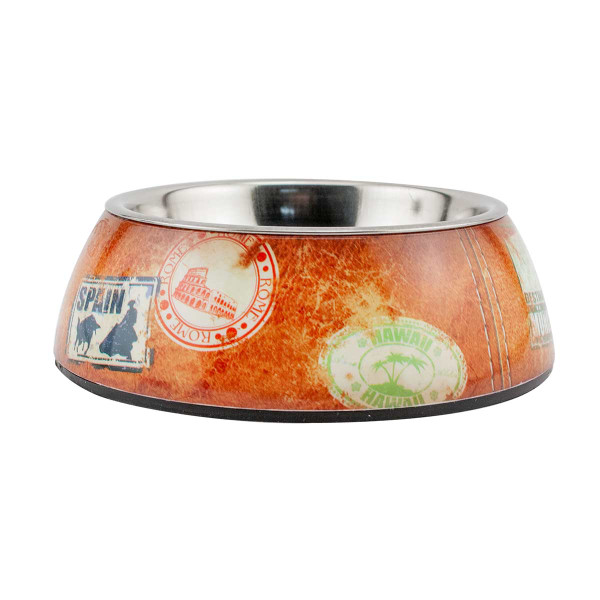 Small Traveler Milano Dog Bowl