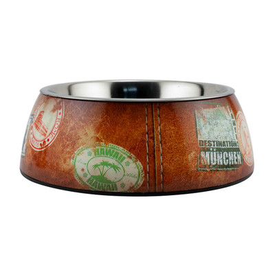 Large Traveler Milano Dog Bowl