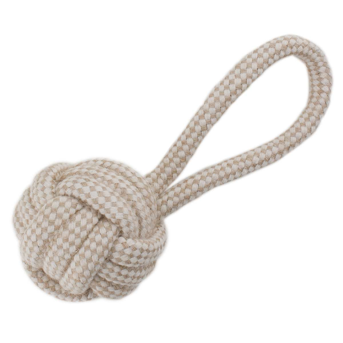 Rope Kettle Knot Tug Dog Toy