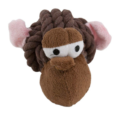 Rope Head Monkey Dog Toy
