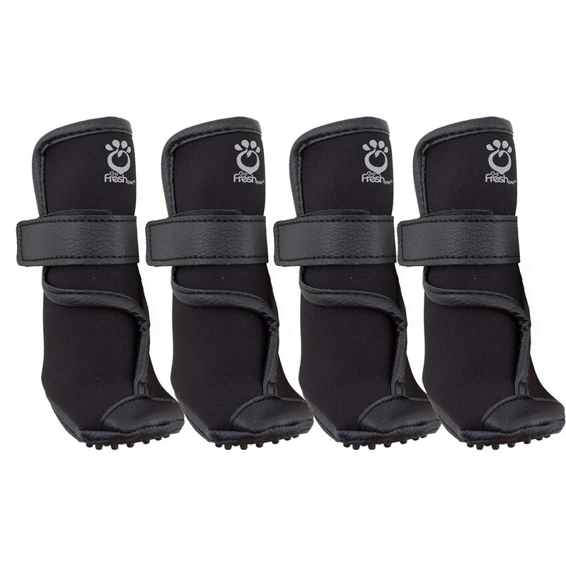Large Black Booteez Heavy-Duty Dog Boots