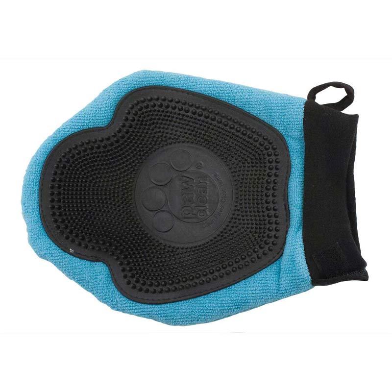 Bottom of Blue Paw Clean Bath Massage Mitt