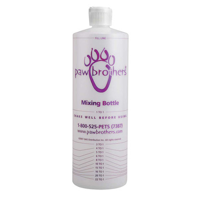 Paw Brothers Mixing Bottle 32 oz