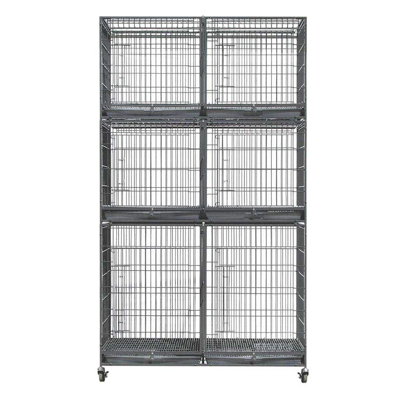 Paw Brothers Large Cage Bank with Free Heavy Duty Cage Wheels