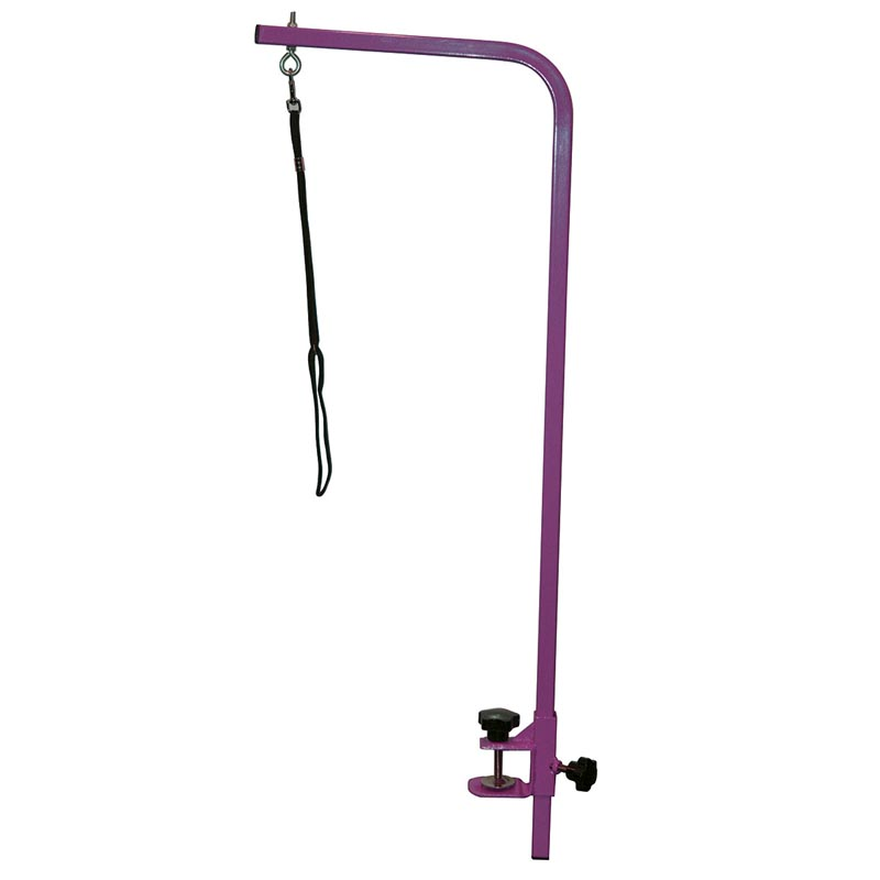 Paw Brothers Professional Purple Grooming Arm and Clamp