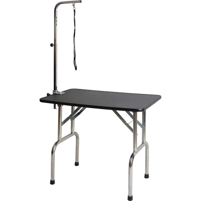 Paw Brothers Professional Folding Grooming Table 30 inch by 19 inch with 32 inch Height
